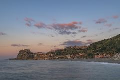 TOWN OF SCILLA, CALABRIA stock photo