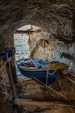 TOWN OF SCILLA, ITALY. TOWN OF SCILLA, CALABRIA ITALY stock image