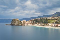 TOWN OF SCILLA, CALABRIA stock photos