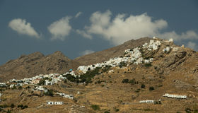 Town Of Serifos Island, Greece Stock Images