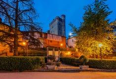 Town of Serralunga D'Alba. Stock Image