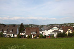 Town Siegen in Germany stock photography