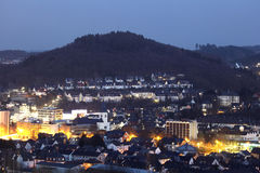 Town Siegen, Germany Stock Photography