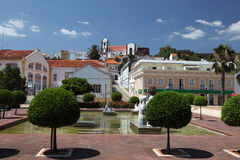 Town Silves, Portugal Royalty Free Stock Image