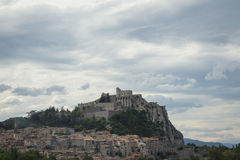 Town of Sisteron, France Stock Photography