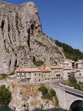 Sisteron. The town of sisteron in provence france Royalty Free Stock Photography