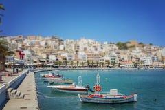 Town of Sitia on Crete Royalty Free Stock Photos