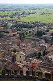 The town of Soave, famous for wine and grapes Stock Photo