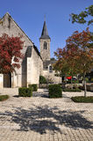 Town of Solesmes in France Royalty Free Stock Image