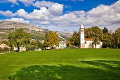 Town of Solin historic landmark Royalty Free Stock Photos