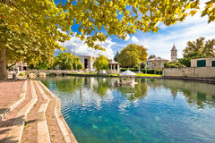 Town of Solin and river Jadro Stock Photo