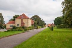 Town of Soroe in Denmark Stock Images