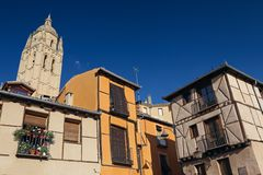 Town in Southern Europe Royalty Free Stock Images