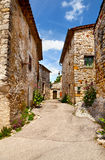 Town in southern France Stock Photos