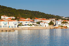 The town of Spetses island, Greece Royalty Free Stock Photo