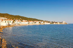 The town of Spetses island, Greece Stock Photography