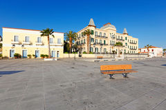 The town of Spetses island, Greece Stock Images