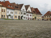 Town square in Bardejov Stock Photography