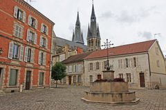 Town Square, Chalons-en-Champagne Stock Photos