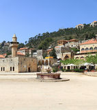 Town Square at Deir el Qamar, Lebanon Royalty Free Stock Image