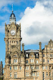 Town Square in Edinburgh on Nice cloudy day Royalty Free Stock Photography