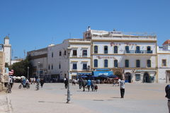 Town square in Essaouira Royalty Free Stock Image
