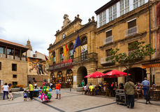 Town Square in Haro, La Rioja Stock Photo