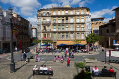 Town Square in Haro, La Rioja Royalty Free Stock Photo