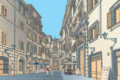 Town Square Stock Images