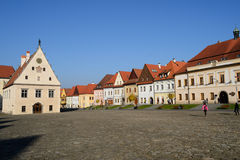 Town Square Royalty Free Stock Photo