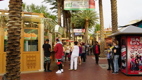 Town Square in Las Vegas, Nevada Stock Photography