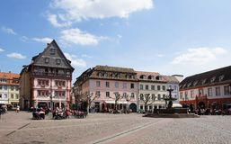 Town Square Stock Photography