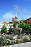 Town square of the Spanish city Granada Royalty Free Stock Images