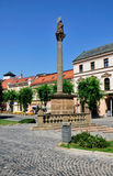 Town Square of Trencin, Slovakia Royalty Free Stock Image