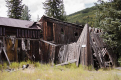 The town of St. Elmo in Colorado. St. Elmo is a ghost town in Chaffee County Colorado. It was a gold town in 1880 with over 2000 people. The town was abandoned stock images