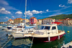 Town of Starigrad on Hvar island Stock Photos