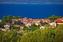 Town of Sutivan coast view Stock Photos