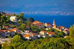 Town of Sutivan coast view, Royalty Free Stock Image