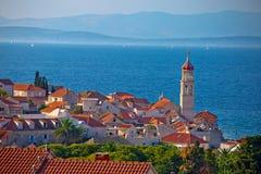 Town of Sutivan skyline view Stock Photo