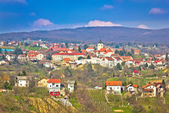 Town of Sveti Ivan Zelina Royalty Free Stock Images