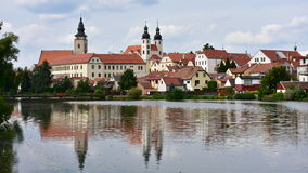 Town Telc Stock Images