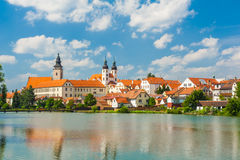 Town of Telc Royalty Free Stock Images