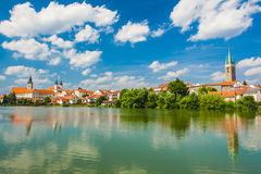 Town of Telc Royalty Free Stock Photo