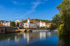 Town Tomar - Portugal stock image