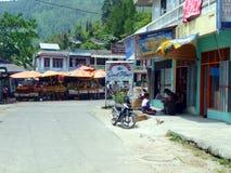 Town in Tomok, Lake Toba Sumatra Royalty Free Stock Photos