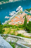 The town from the top Royalty Free Stock Photos