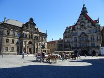 Town, Town Square, Plaza, Landmark stock images