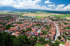 Romania - Town in Transylvania Stock Photos