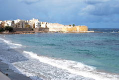 Town of Trapani - Sicily, Italy Royalty Free Stock Photography