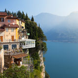 Town of Tremosine. Italy. Royalty Free Stock Photography